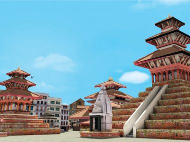 Kathmandu Durbar Square - Interactive 3D Virtual Tour