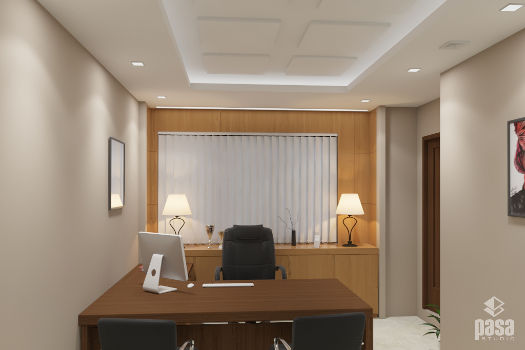 Manager Room 3D Interior