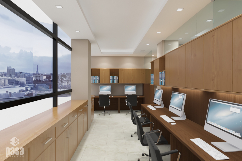 Modern Office with view
