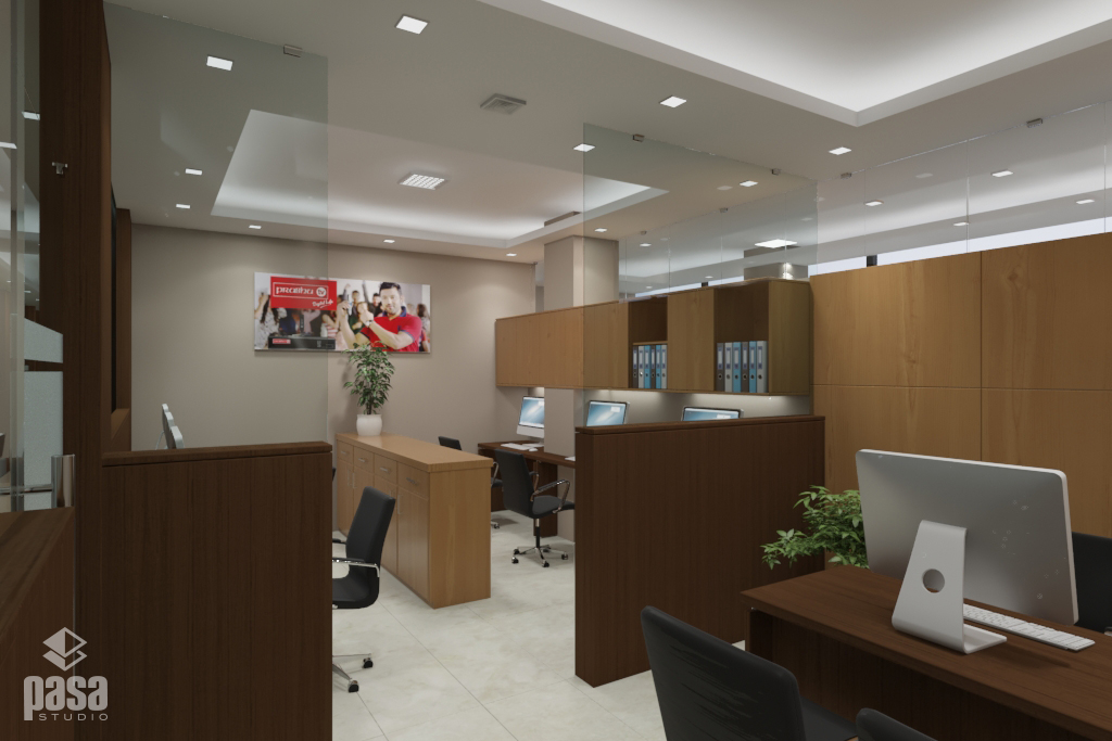 Prabhu Money Transfer Office Design