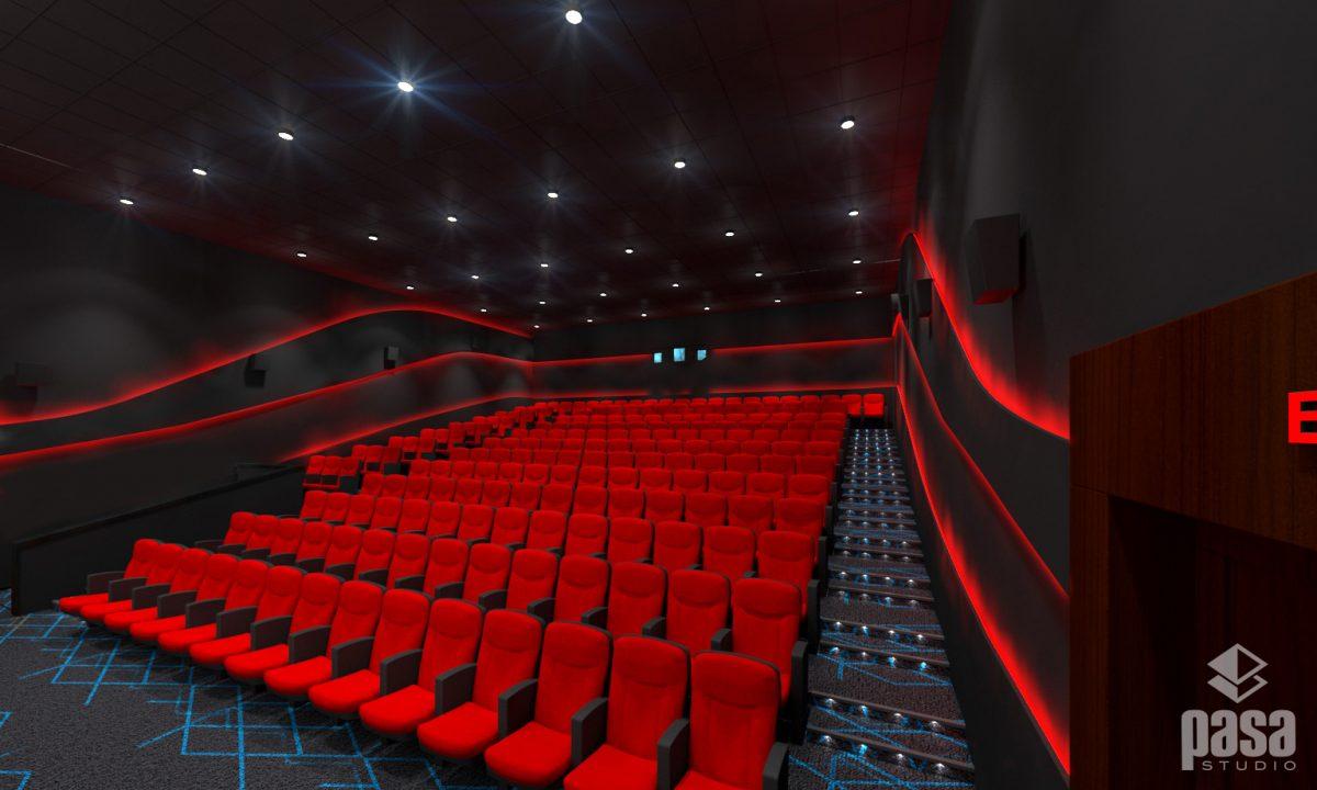 Cineplex Chitwan Hall 3D Interior Design
