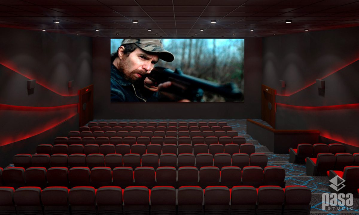 Cinema Hall Interior Design & 3D Visualization