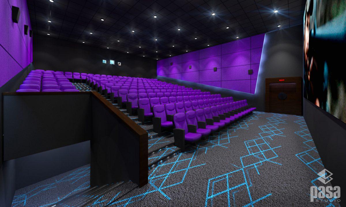 Cinema Hall Interior Design