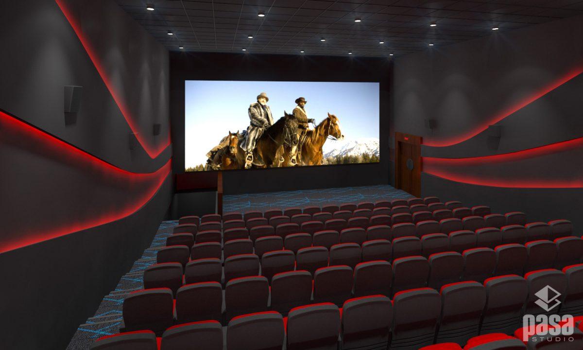 3D Interior Design Cineplex Chitwan