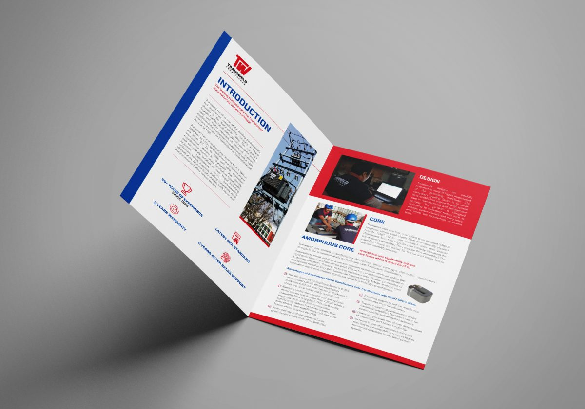 transweld brochure design inner page