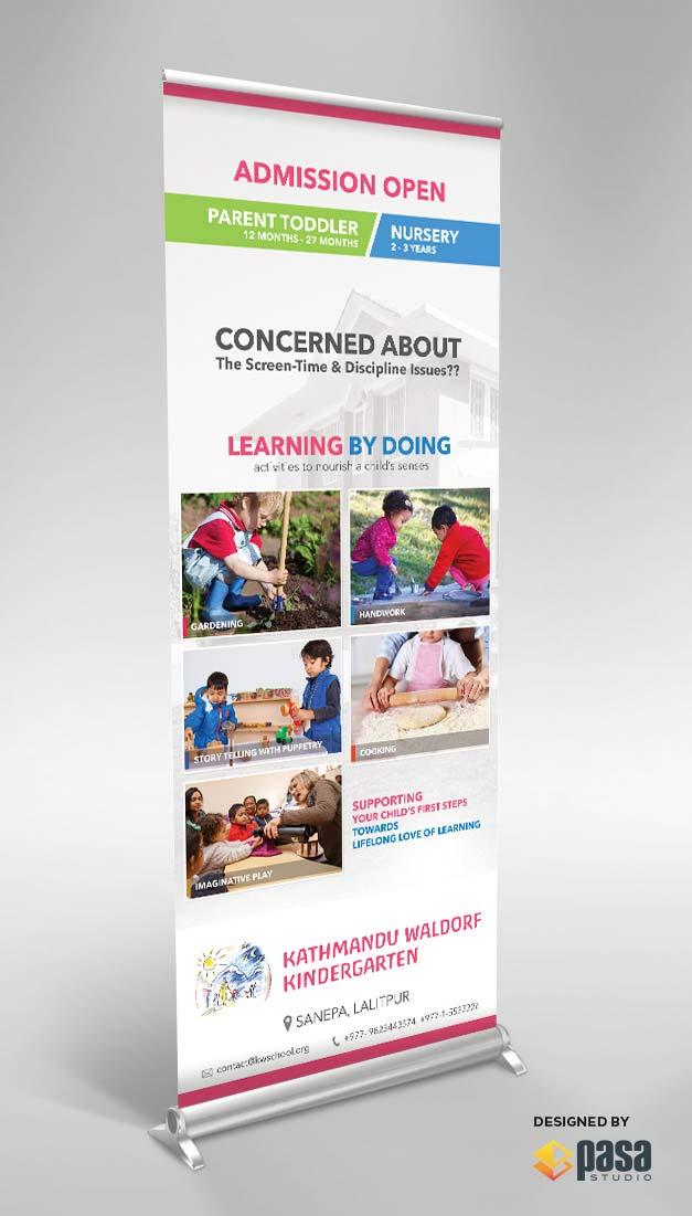 Montessori Banner design